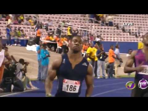 Yohan Blake in EASY 9.90s Win 100m Final  - Jamaica senior trials 2017 - Nuffin' Long Athletics