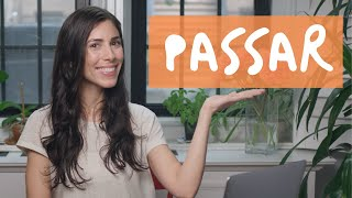 Baixar How to use the verb PASSAR (to pass) in Portuguese