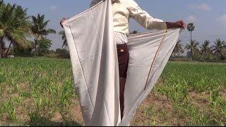 How to wear Dhoti simply & quickly? வேஷ்டி கட்டுதல் தமிழ்நாடு முறை