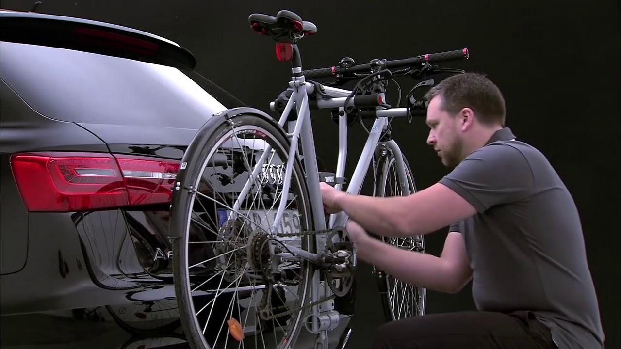 1e67d9d4e Suporte de bicicleta Thule Xpress (970) - YouTube