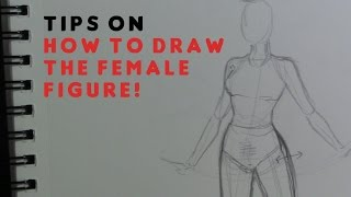How to draw the Female Body (figure)!
