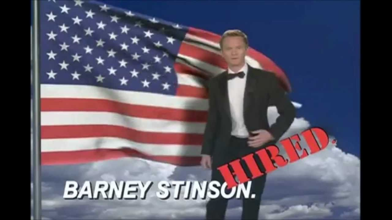 barney stinson awesome cv
