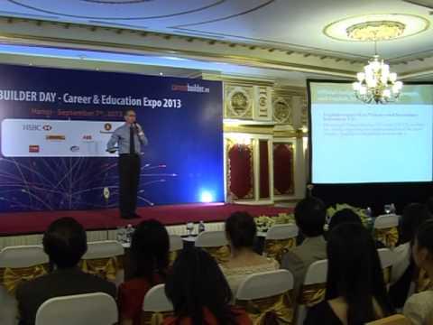 Career Builder Day 2013 - Hà Nội - Ông Gavan Iacono
