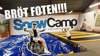 Testar Snowcamp bröt foten
