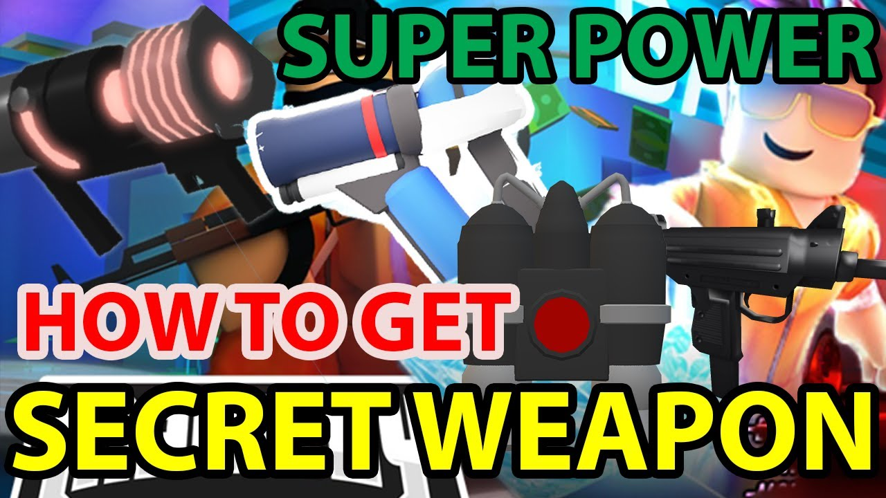 Roblox Mad City How To Get Uzi Frost Death Ray Jetpack Code Season