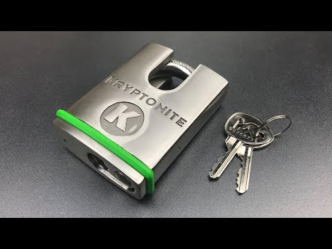 [666] Kryptonite 63mm Closed Shackle  Padlock Picked and Gutted (Model 851127)