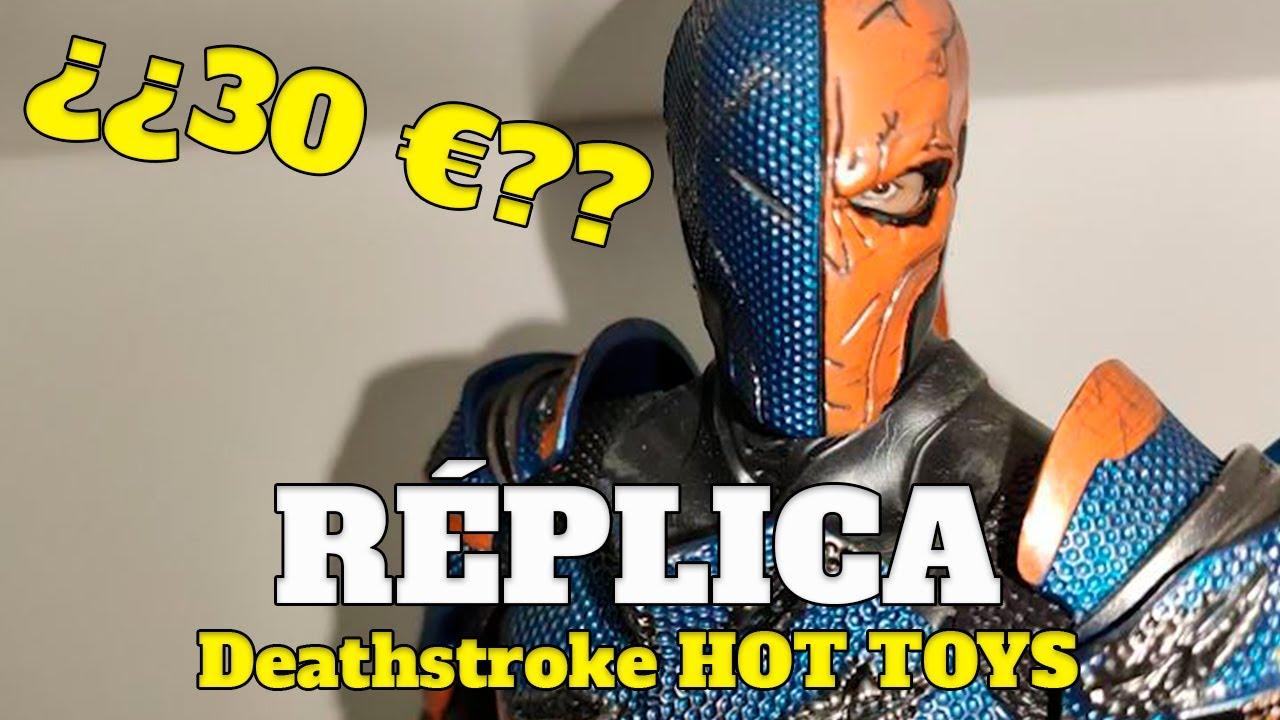 ¡Una réplica del DEATHSTROKE de HOT TOYS POR 30 €! - Crazy Toys - Review