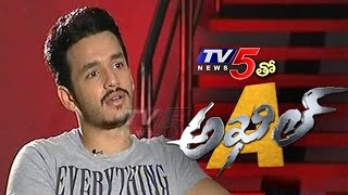akhil interview on his debut movie akhil akkineni sayesha saigal vvvinayak tv5 news