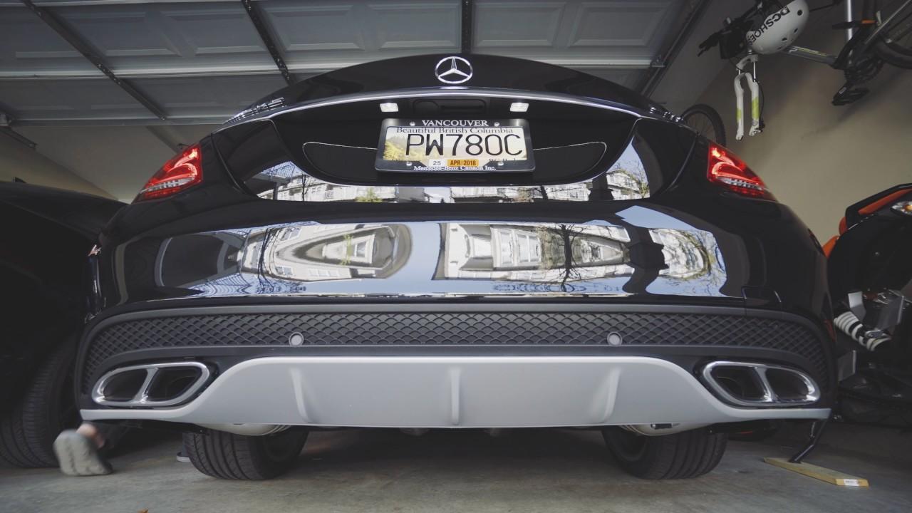 2017 mercedes benz c43 amg performance exhaust start up for Mercedes benz performance exhaust