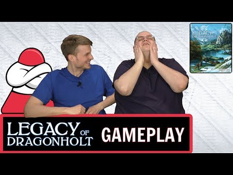 Legacy of Dragonholt - To New Roads - Board Crazy Plays...