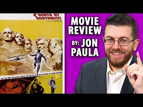 North By Northwest (Alfred Hitchcock) --- Movie Review #JPMN