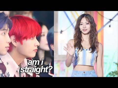 tzuyu making taehyung straight for a minute