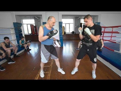 Боксер с правильным ударом / Мельцер показал как бить