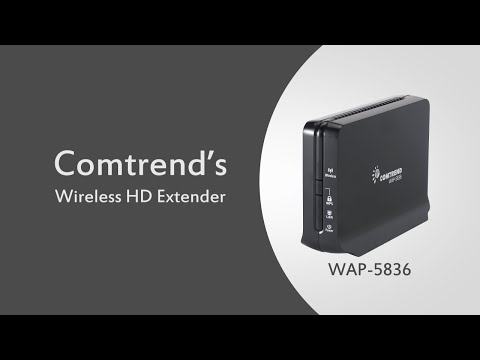WAP-5836 HD Wireless Extender Video