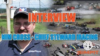 Nim Cross - Chief Steward iRacing - Interview Live