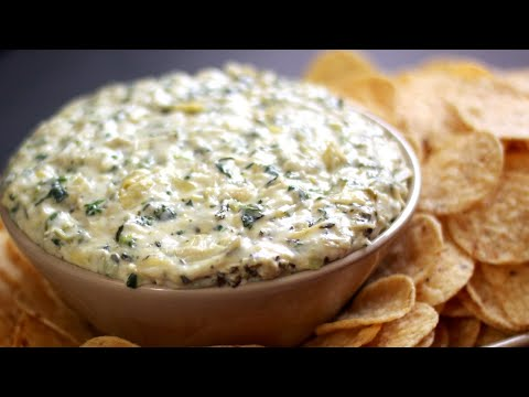 Holiday Recipe Remix Green spinach Goatichoke Dip