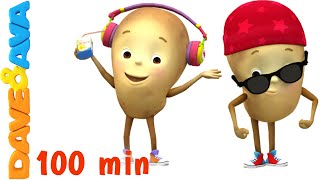 Download One Potato, Two Potatoes | Counting Songs | Nursery Rhymes Collection from Dave and Ava Mp3 and Videos