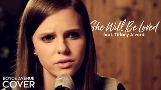 Repeat youtube video Maroon 5 - She Will Be Loved (Boyce Avenue feat. Tiffany Alvord acoustic cover) on Apple & Spotify