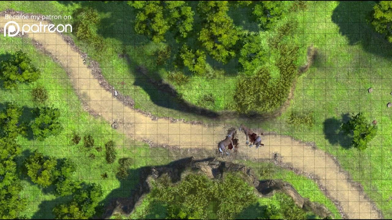 Road to Phandalin (Goblin ambush) - Dynamic Dungeons