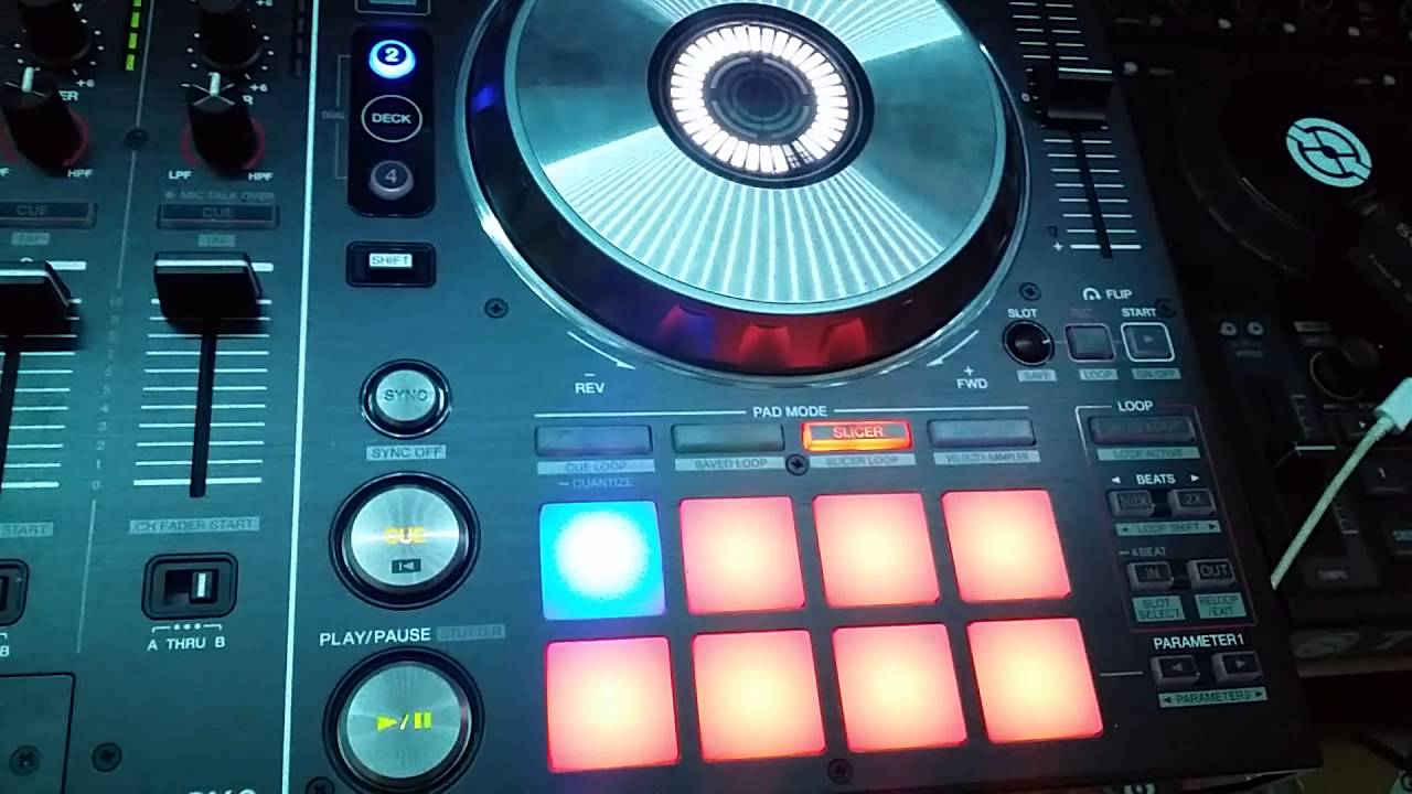 serato dj deck says thru