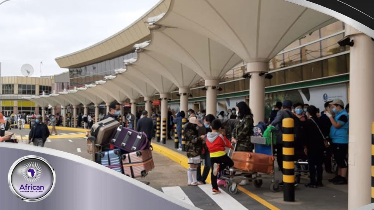 Large Group Of Asians Landed In JKIA Raising Concerns From Kenyans