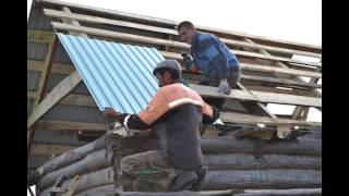Крыша бани! часть 1(, 2014-11-20T16:30:01.000Z)