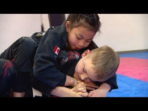 Bullying victim transforms into jiu-jitsu champ