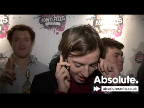Jack from Bombay Bicycle Club phones his mum and dad after winning at the NME Awards