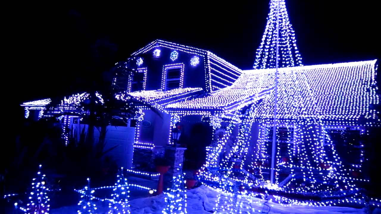 Best Christmas Lights in Fountain Valley, California - YouTube