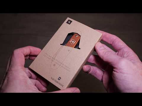 Review Victorinox Limited Pioneer Nespresso Livanto