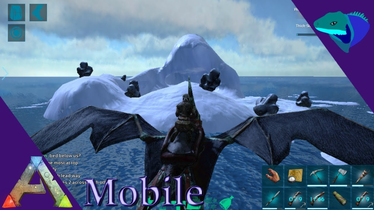 HOW TO FIND OIL AND ORGANIC POLYMER! Ark: Mobile Beginner's Guide Episode 7