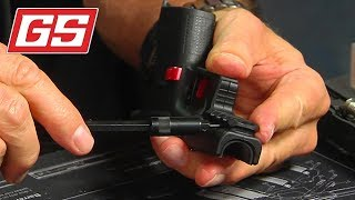 Lenny shows our new Glock Compact & Over Rail Adapters