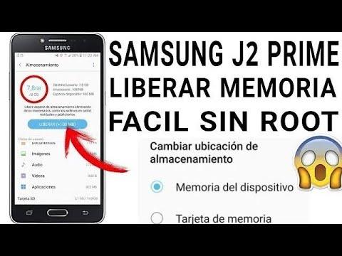 Como Aumentar Memoria Interna Al Maximo En J2 Prime Sin Root 2018