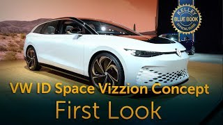 VW ID Space Vizzion Concept  - First Look