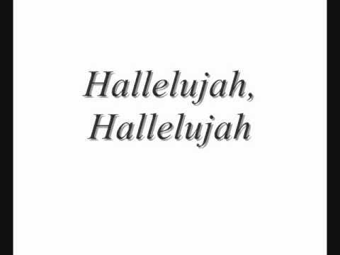 Hallelujah with Lyrics (Shrek Song) - Rufus Wainwright