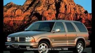 #2830. Oldsmobile bravada x scape 1998 (Prototype Car)