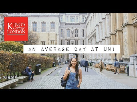 university student at kings college london day in the life || Mei-Ying Chow Vlog