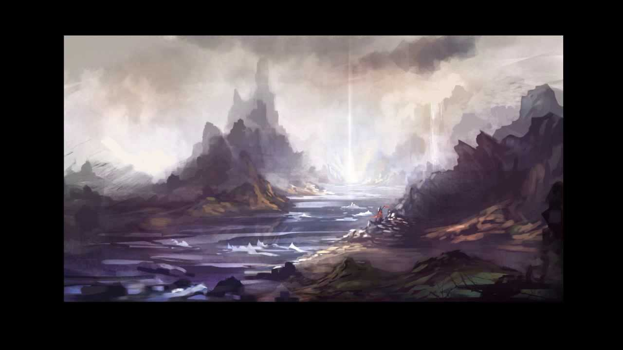 Digital painting tutorial part 03 landscapes from black and digital painting tutorial part 03 landscapes from black and white youtube baditri Images