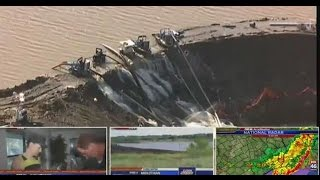 Fox 46 News Now: Midlothian's Padera Lake failure, Texas severe weather, FIFA corruption arrests