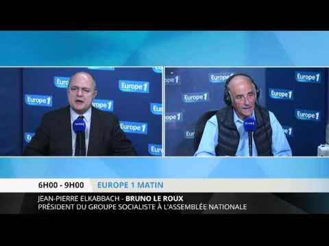 """Bruno Le Roux : """"Mr Gattaz pense à son profit"""""""