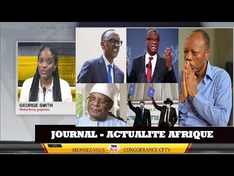 Le Journal Afrique Actualité du samedi 05 septembre 2020 sur CFTV1