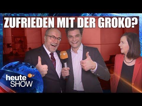 Zwei Wochen Groko: Lutz van der Horst im Bundestag   heute-show vom 23.03.2018