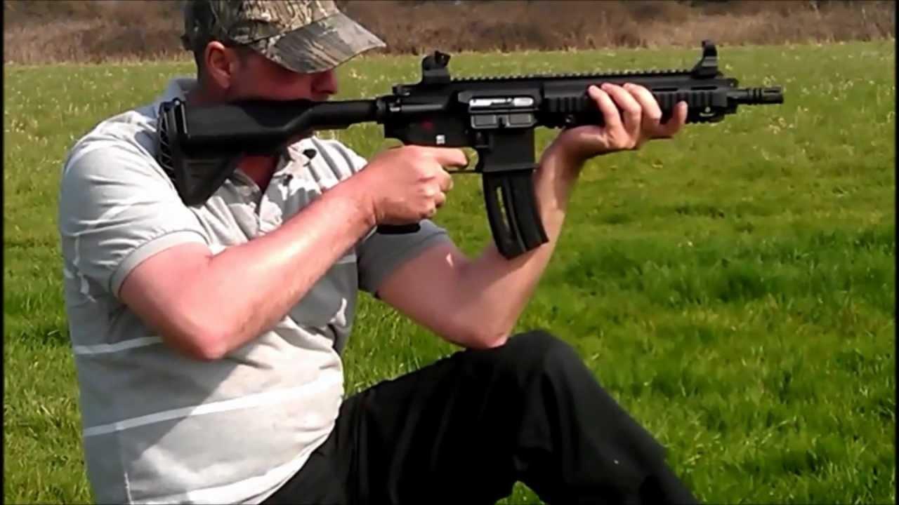 H & K 416  22LR Tactical Rifle