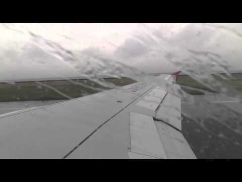 Peach Aviation Aribus A320 Taxi and Takeoff(GPS)
