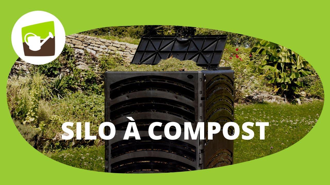 Composteur 3 compartiments avec a rateur - Composteur de jardin ...