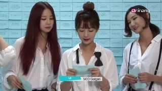 (CUT) Hyerin revelas the story behind her nickname // EXID funny moments #4