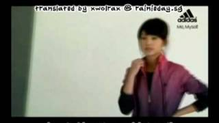 Rainie Yang - Adidas 2009 Autumn-Winter Season Part 1