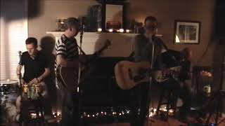 """The Trashcan Sinatras perform for 50 lucky and enthusiastic fans at a house in Portland, Oregon, May 30, 2010. Shown here is """"I See the Moon."""" This was the ..."""