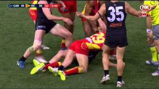 Yarran finishes as things heat up - AFL