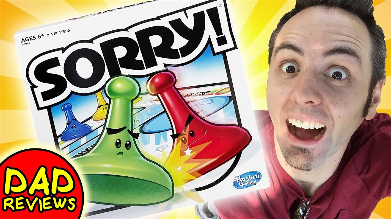 sorry kids games for